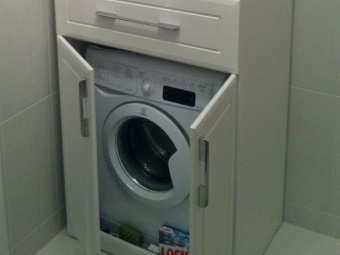 Purpose of the cabinet for a washing machine