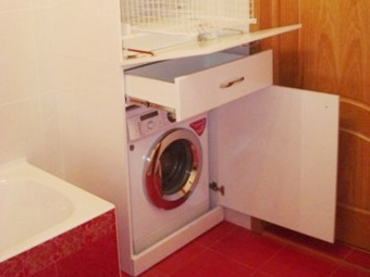 Advantages of the cabinet for a washing machine