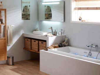 Advantages of Leroy Merlin furniture for bathrooms