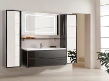 The range of furniture from Leroy Merlin bathroom