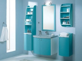 Benefits of foam for a bathroom cabinet