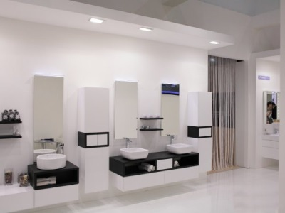 Bathroom furniture from Akvaton