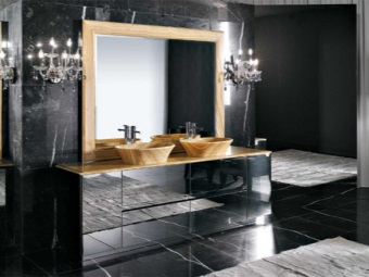 Bathroom furniture from Valente