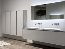 Bathroom furniture of the brand Antonio Lupi