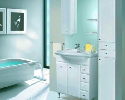 Bathroom furniture from Russian brand Aqualife