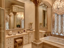 Functional bathroom vanities