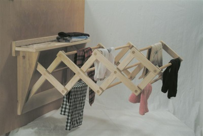 Homemade clothes dryer