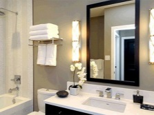 Wall sconces for the bathroom