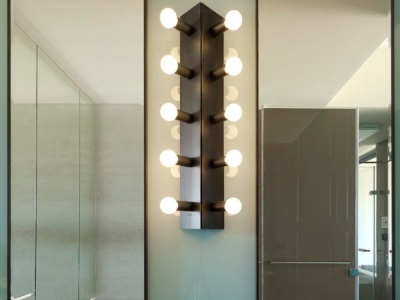 Safety rules when installing wall light in the bathroom