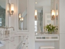 Tips for choosing a wall-mounted light fixtures in the bathroom