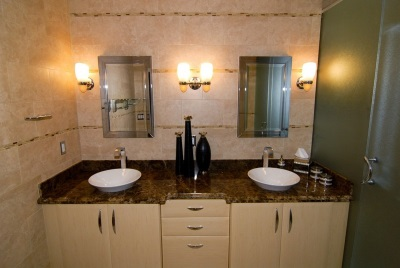 Requirements for wall sconces in the bathroom