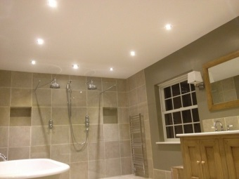 Advantages of spotlights for bathroom