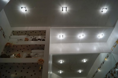 Disadvantages spotlights for bathroom