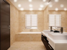 Recommendations regarding the selection of point damp proof luminaires for the bathroom