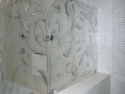 Design of rigid corner curtain for the bath