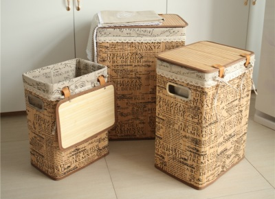 Requirements for baskets for linen for the bathroom