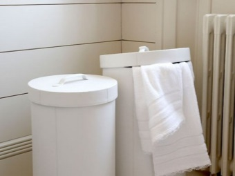 The cost of laundry baskets for the bathroom