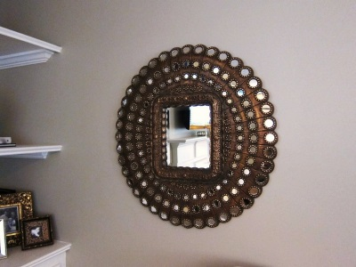 Mirror handmade bathroom