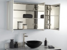 Materials - cabinet mirror bathroom