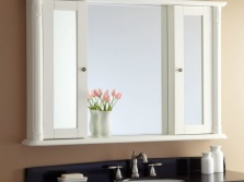 Materials for the mirror - cabinet in the bathroom