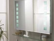 Advantages mirror with shelf bathroom