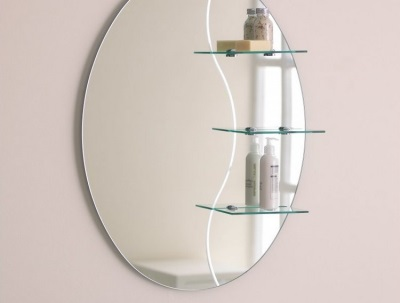Tips for choosing a mirror with shelf bathroom