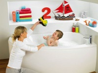 Ideas for the bathroom, which like children