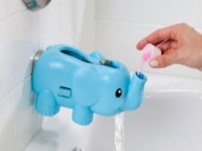 Elephant - nozzle on the faucet for kids