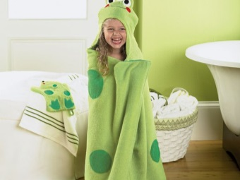 Towel Frog for children