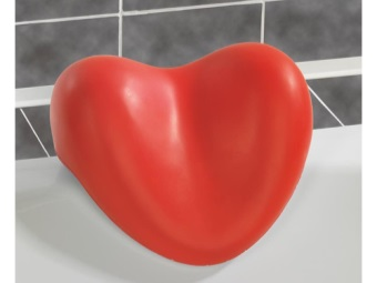 Bath Pillow in form of heart