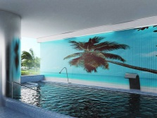 3D- photo tiles for bathroom or swimming pool