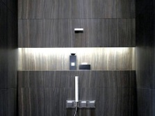A niche in the wall of the bathroom - its advantages