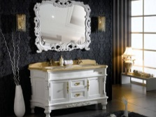 Furniture in the bathroom in the Baroque style