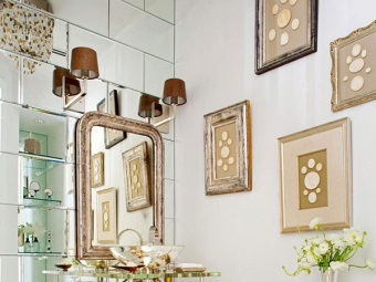 Tips on creating an interior in the bathroom in the art deco style