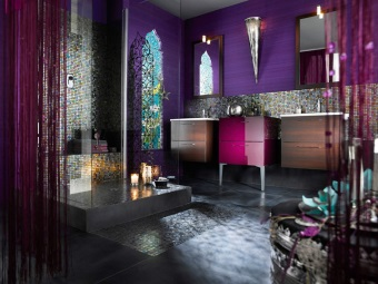 Advantages of oriental style in the bathroom