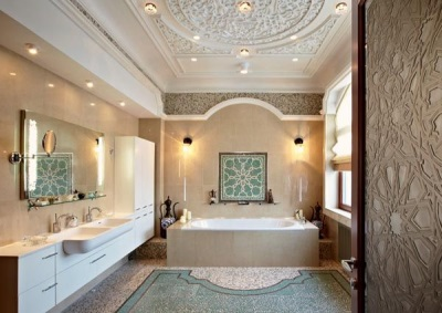 Bathroom in Arabic style