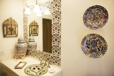 Turkish style in the bathroom