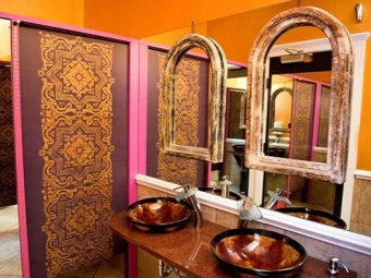Indian bathroom