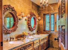 Recommendations for bathroom design in oriental style