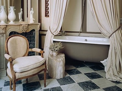 Tips to design a bathroom in retro style