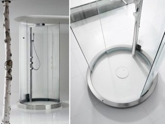 Little creative freestanding shower