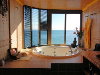Bathroom for relaxation
