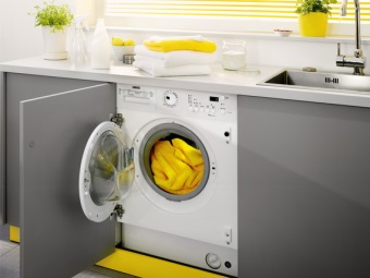 Built-in washing machine