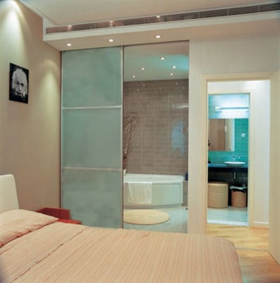 Location bath on Feng Shui