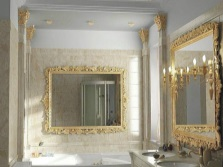 Feng Shui in the bathroom mirrors