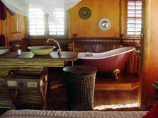 Bathroom in country style