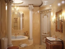 Lighting appropriate general style bathroom