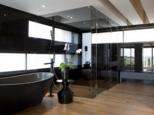 Large bathrooms with windows