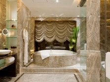 Large comfortable bathroom