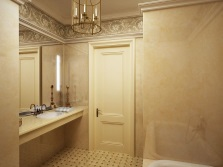 Simplicity and style in the decoration of the bathroom